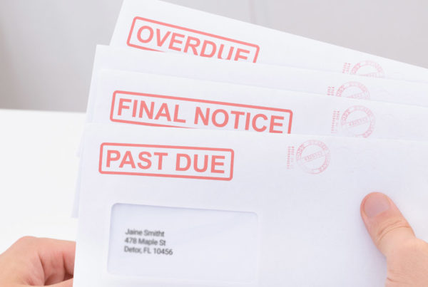 How to Deal with Debt Collectors Bills